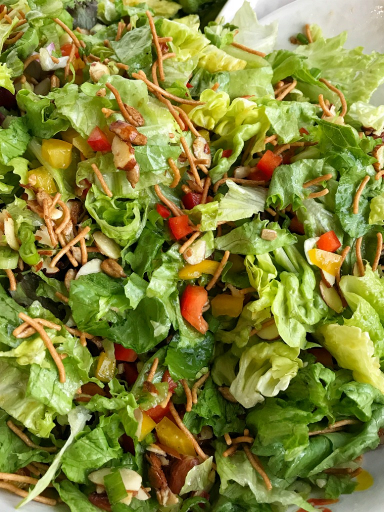 Fancy Company Green Salad Together As Family