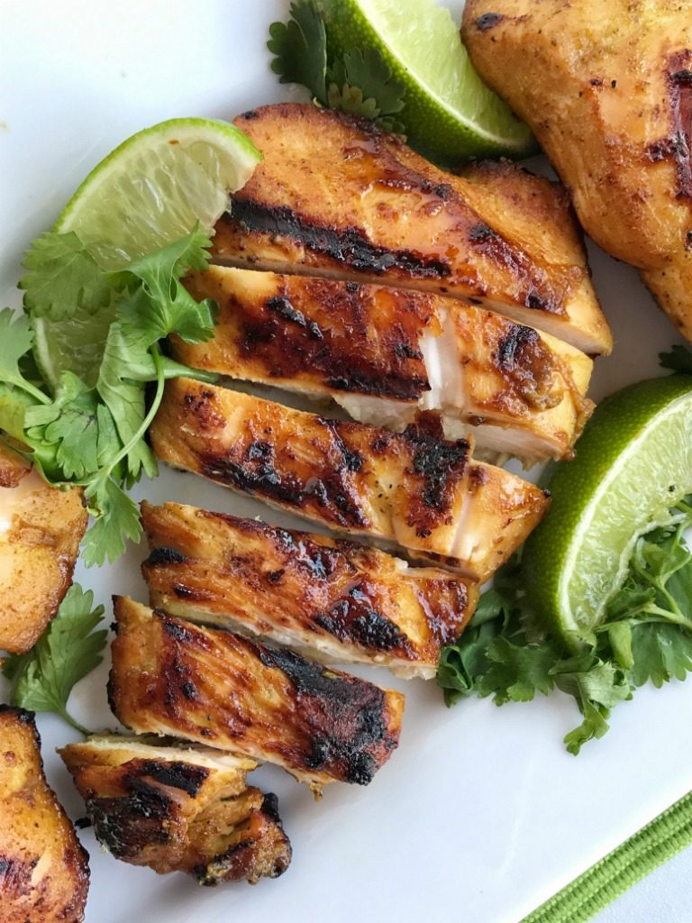 Thai coconut chicken is a must make for grilling season. Chicken marinated in a mixture of coconut milk, lime, curry powder, and other spices. Fire up the grill and grill this chicken for an easy, delicious, and less mess dinner.