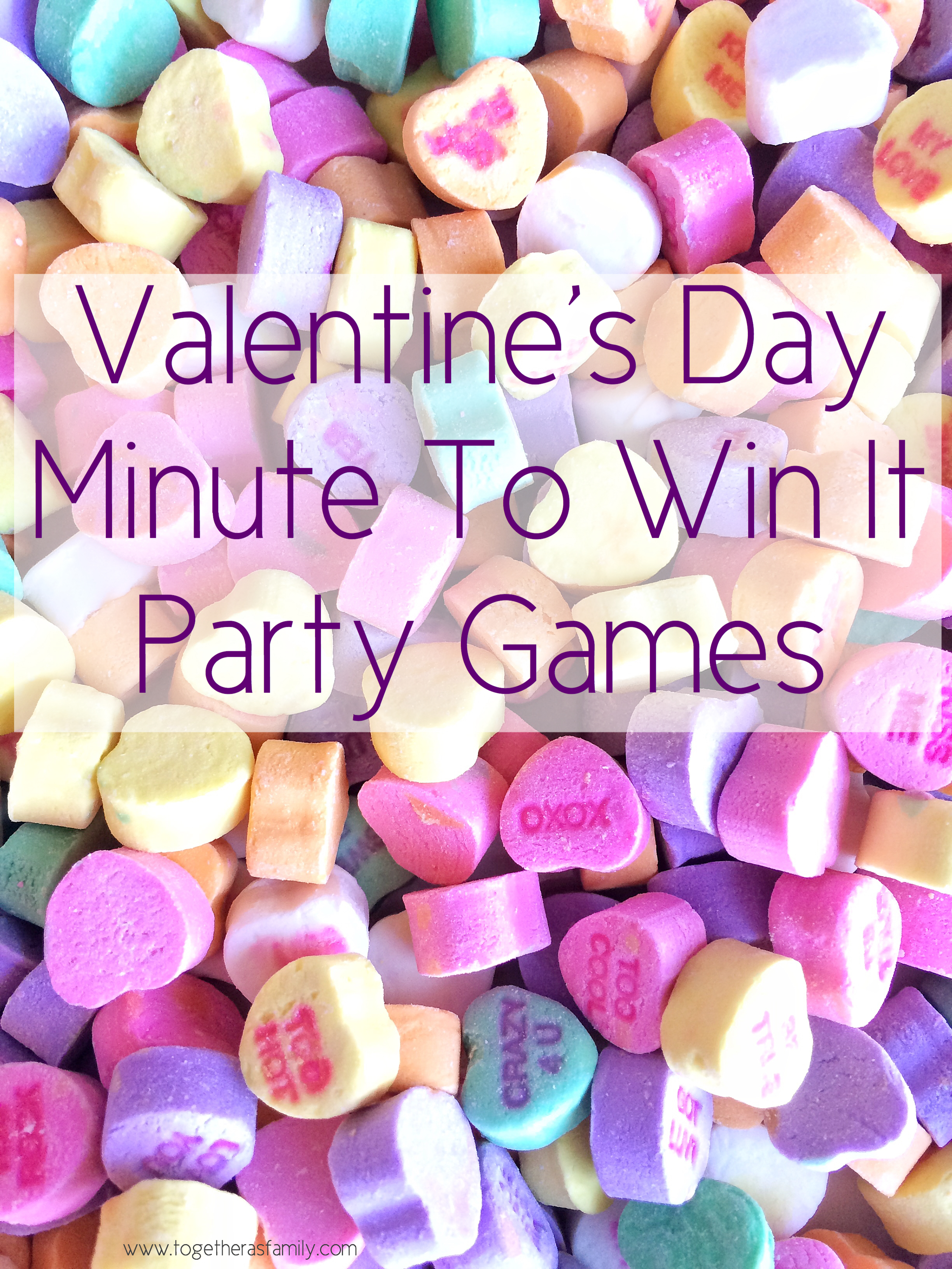 Classroom Game Ideas For Adults ~ Valentine s day minute to win it games together as family