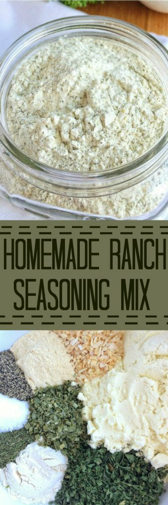 Don't waste any more money on those packets! Whip up your own homemade ranch seasoning mix. It tastes so much better and it has less salt than the store-bought packets. Plus, it's cheaper and you know exactly what's in it.