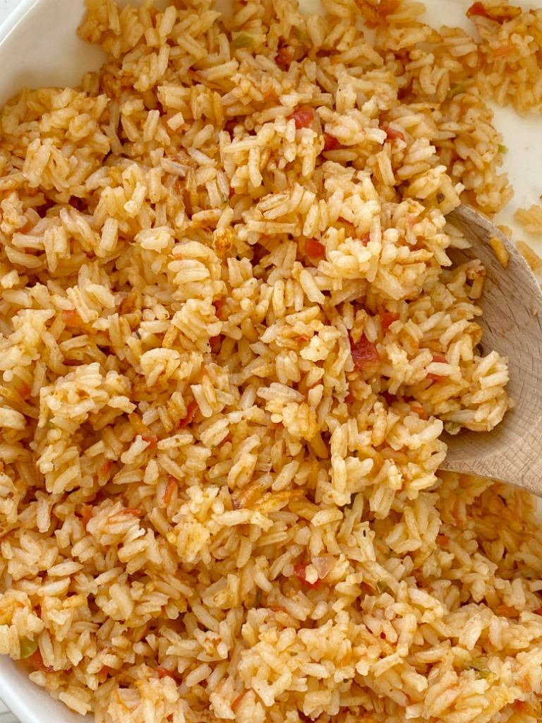 Easy Mexican Rice Together As Family
