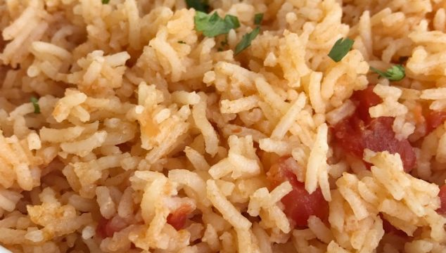 This mexican rice will turn out perfectly each time! Fluffy, flavorful, and a great side to any Mexican dish. Only a few simple ingredients + seasonings is all you need. Bonus, no chopping required!