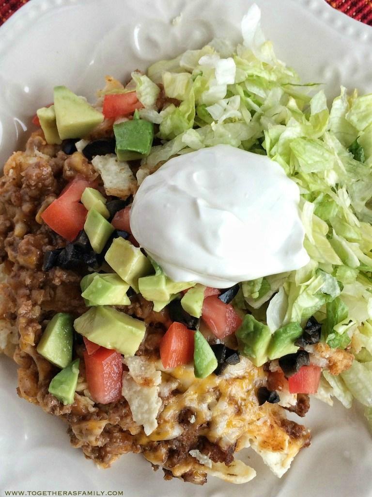 Taco Salad Recipe Casserole