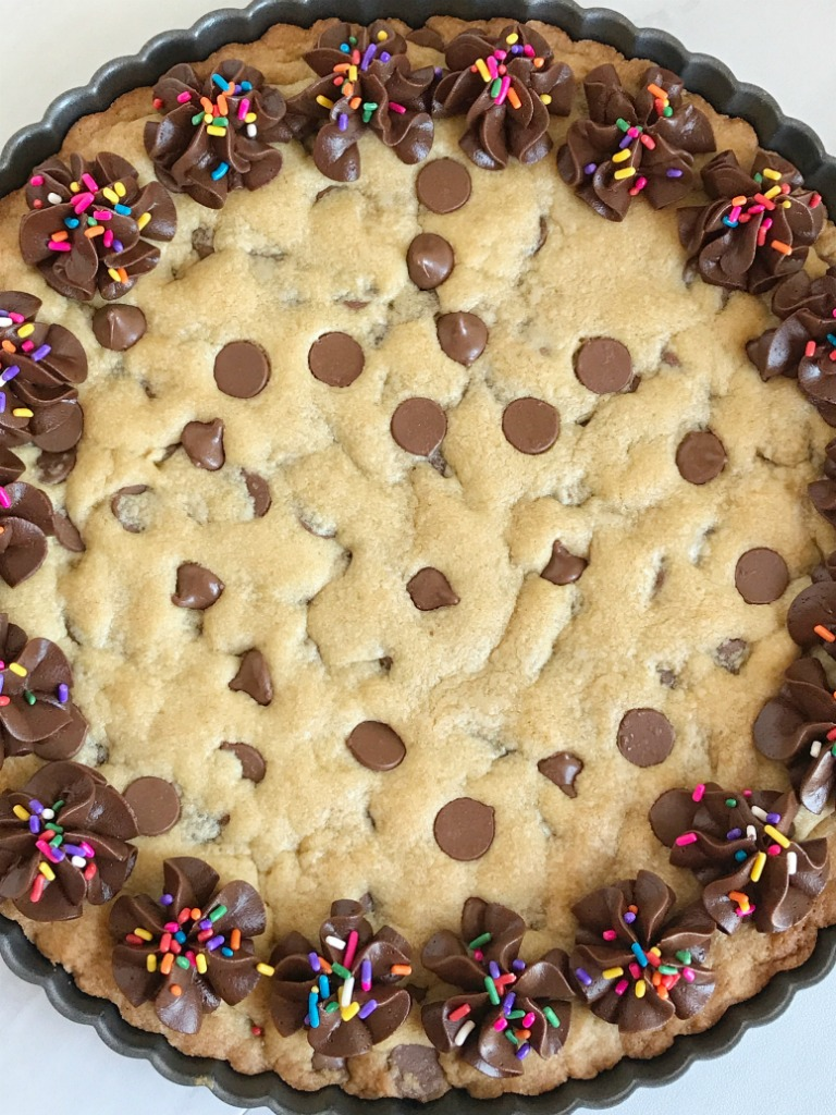 Fine Giant Chocolate Chip Cookie Together As Family Funny Birthday Cards Online Sheoxdamsfinfo
