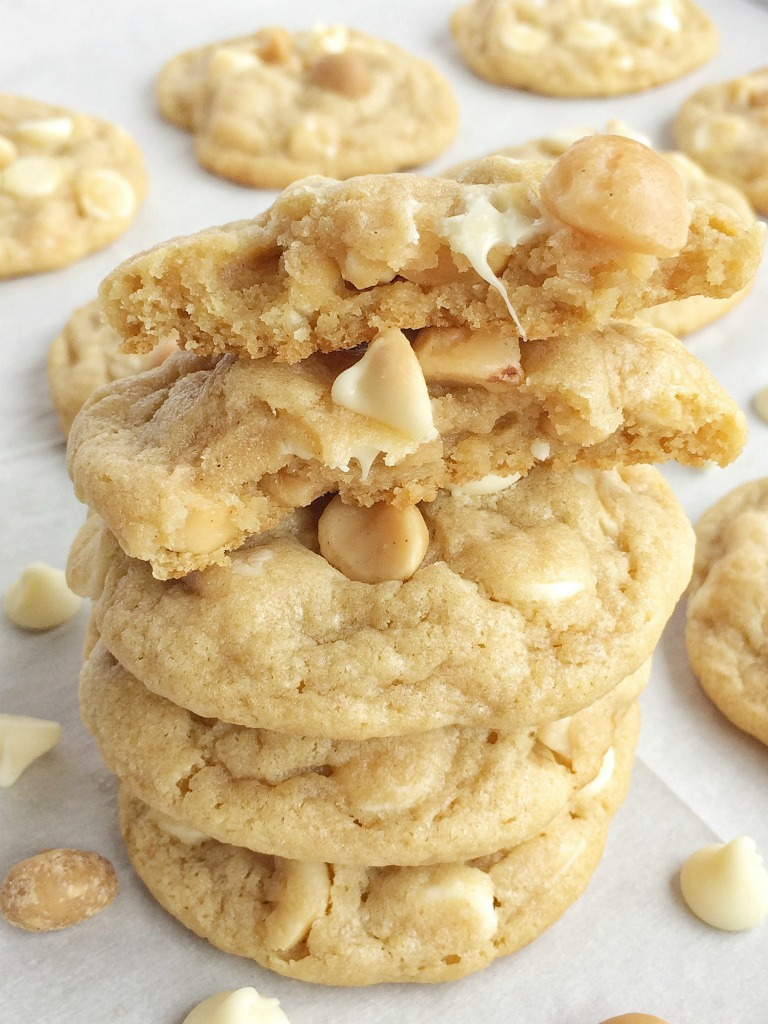 White Chocolate Macadamia Nut Pudding Cookies - Together ...