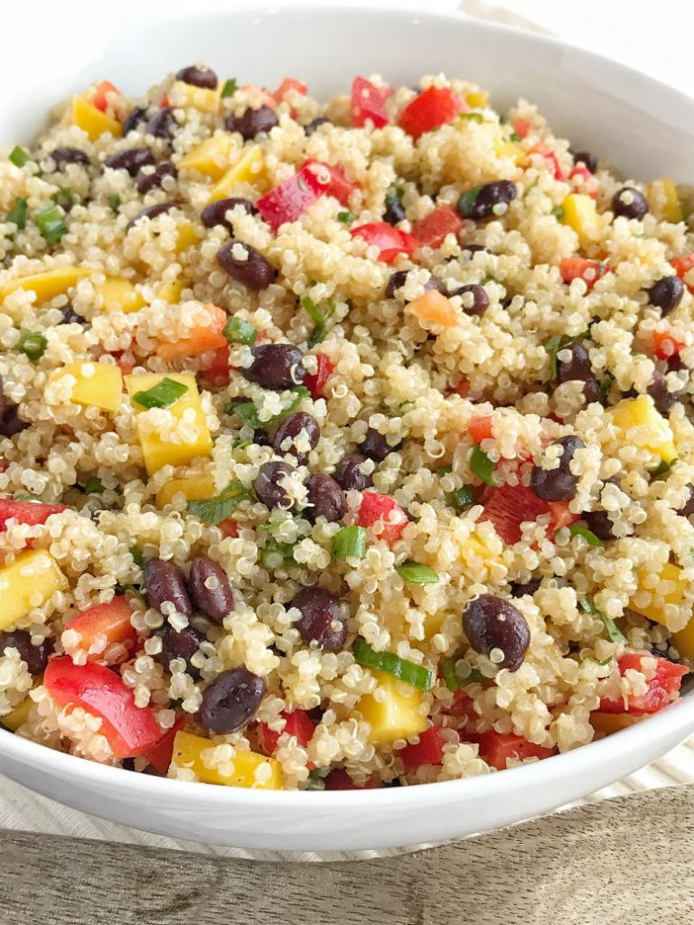 What is black quinoa