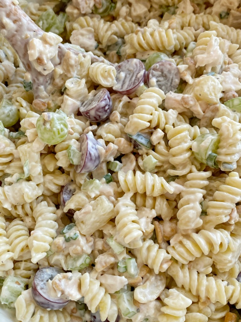 Fruity Cashew Chicken Pasta Salad Together As Family,Outside Home Exterior Painting Ideas