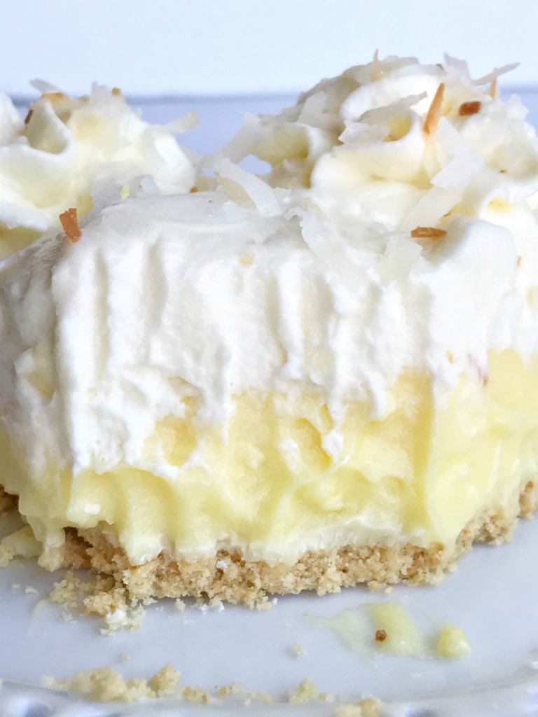 White Chocolate Coconut Cream Pie - Together as Family