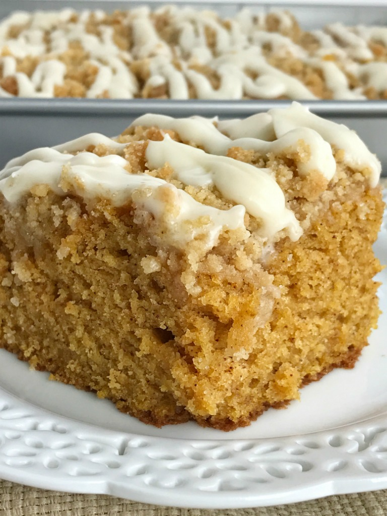 Pumpkin Cake Recipe Pinterest