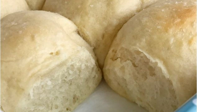 Soft, fluffy, & buttery rolls in just one hour! Yes it can be done and you won't believe how delicious and fail-proof these rolls are. These one hour rolls are perfect for Thanksgiving dinner or easy enough for a weeknight dinner   www.togetherasfamily.com #thanksgivingrecipes #thanksgivingfood #breadrecipes #rollrecipes #recipe