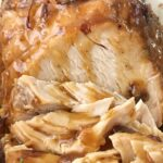 Crock Pot Cranberry Turkey Breast | Turkey Recipe | Thanksgiving Recipe | No need for a big turkey at Thanksgiving? Try this turkey recipe that gets cooked right in the crock pot with minimal ingredients. Flavorful, moist, and tender flaky turkey breast that is so easy and perfect for Thanksgiving dinner. No cleaning the bird! Let the slow cooker do all the work and it even makes it's own cranberry gravy. #thanksgivingrecipes #turkeyrecipes #turkey #dinner #recipeoftheday #holidayrecipe