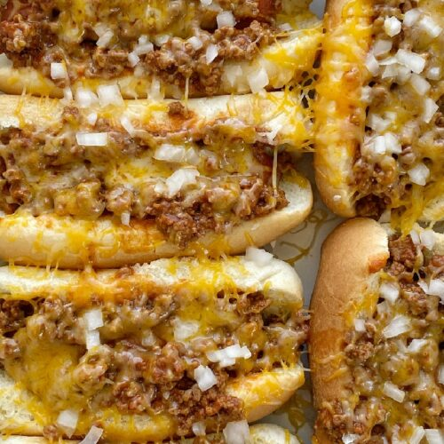 Easy Slow Cooker Chili Coney Dogs Together As Family