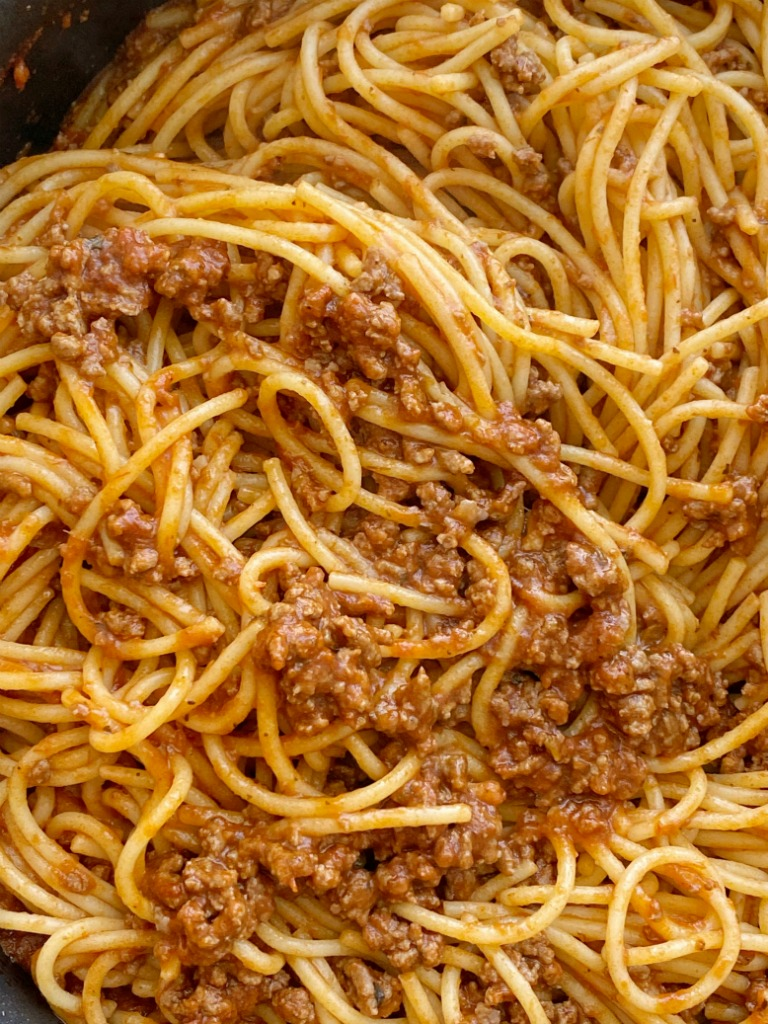 Homemade Spaghetti Recipe Together As Family